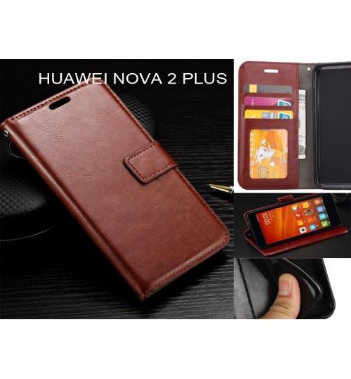 Huawei nova 2 plus  case Fine leather wallet case