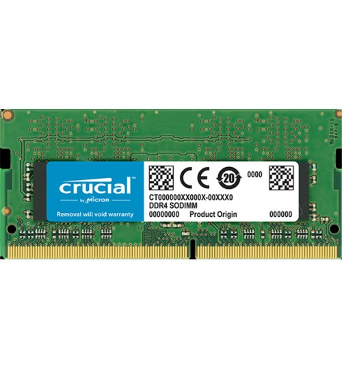 Crucial 8GB DDR4 SODIMM 2400 MT/s (PC4-19200) CL17 DR x8 Unbuffered SODIMM 260pin DDR4  For Laptop and other SODIMM Compatiable devices