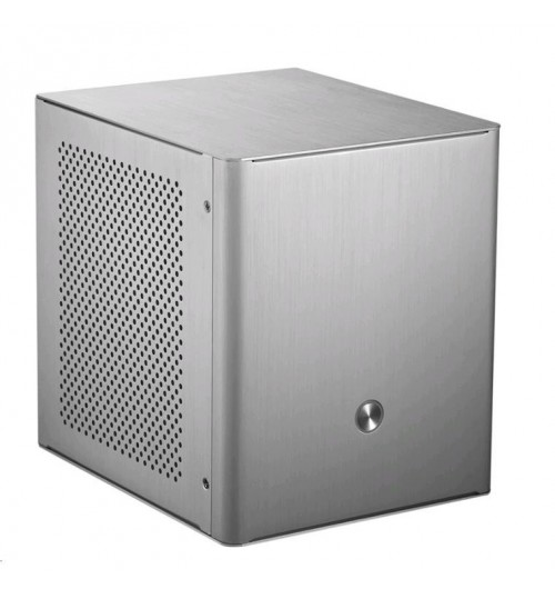 Jonsbo V2 Aluminium Alloy Mini-ITX Tower - Silver