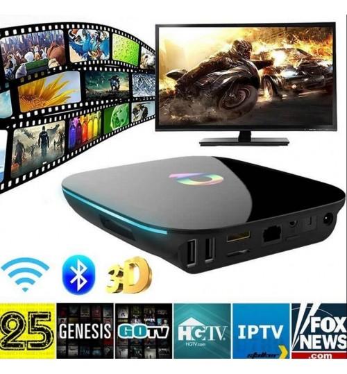 Q BOX 4K Android 6.0 TV Box - 2GB 16GB 5G Wifi KDPlayer