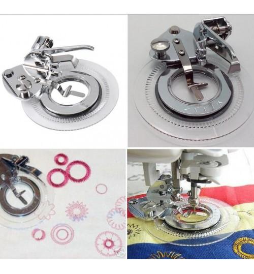 Flower Stitch Presser Foot For Sewing Machine