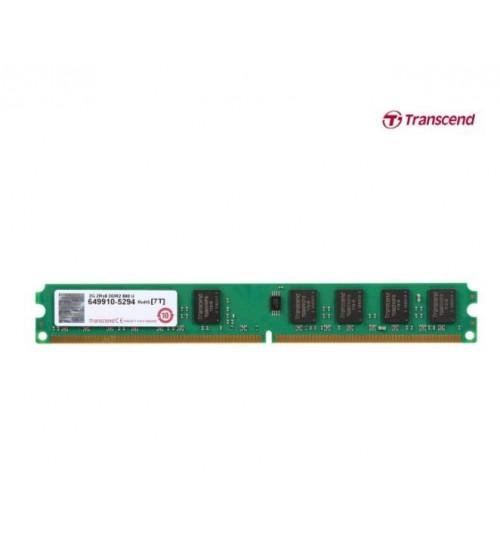 Transcend 2GB DDR2 SDRAM 800 (PC2 6400) Desktop Memory JM800QLU-2G