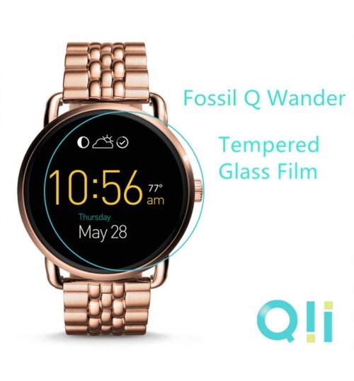 Fossil Q Wander Tempered Glass Film Screen Protector