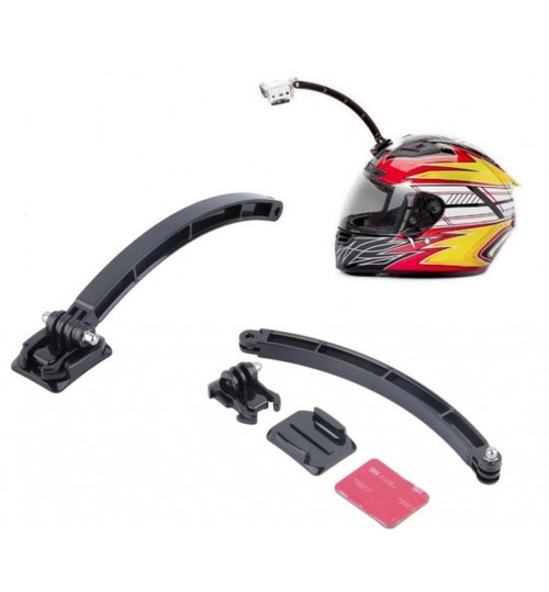 Helmet Extension Arm For GoPro Hero 4 3+ 3 2 1