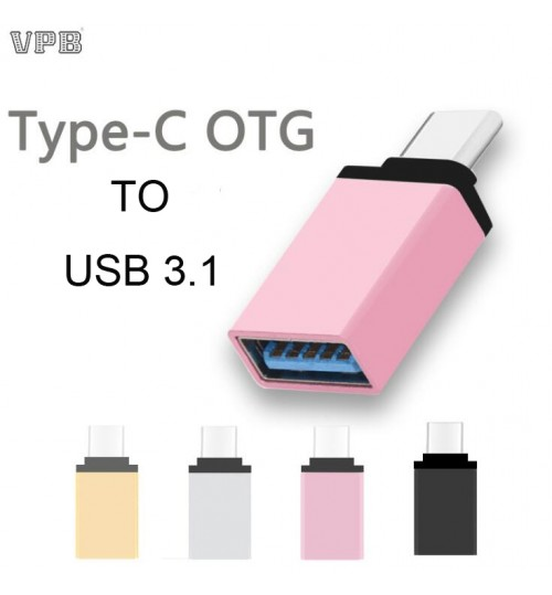 Type C OTG Adapter To USB 3.1 Adapter Converter