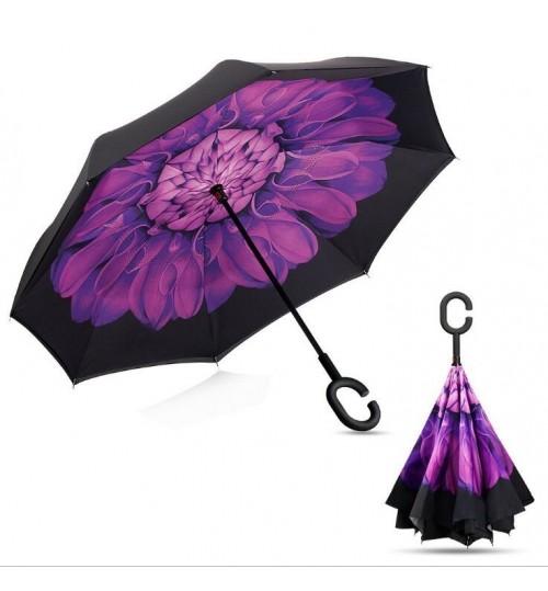 C-Handle Double Layer Umbrella