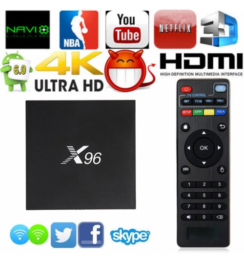 X-96 Android Smart TV Box