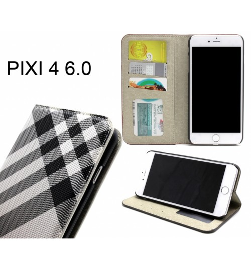Alcatel Pixi 4 (6)  case wallet Leather case