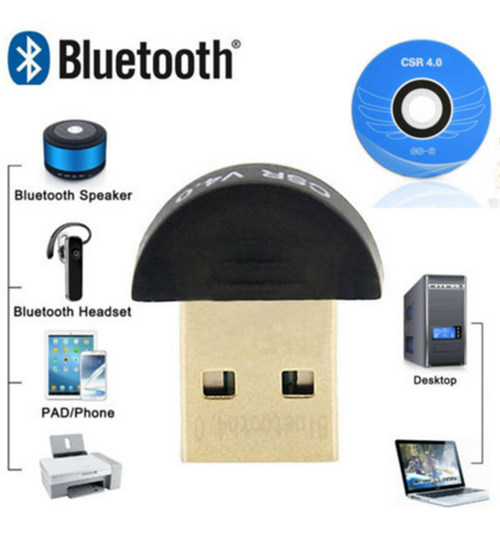 Bluetooth 4.0 USB 2.0 CSR4.0 Dongle Adapter