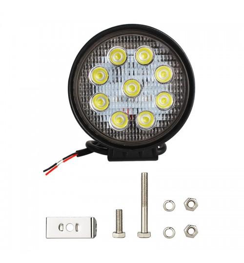 27W CREE LED Flood light Off Road Light Bar work light