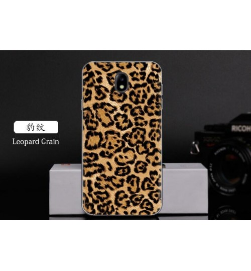 Galaxy J3 PRO 2017 case Ultra Slim Soft Gel TPU printed case soft cover