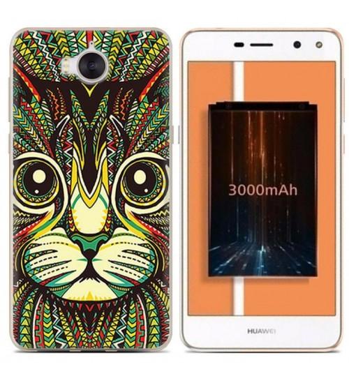 Huawei Y5 2017 case Ultra Slim Soft Gel TPU printed case