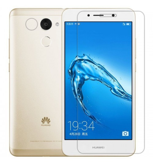 Huawei Y7 Prime  Full Screen Tempered Glass Screen Protector Film