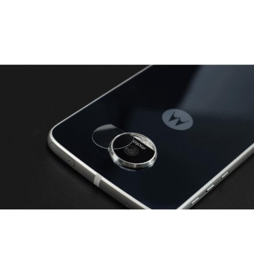 Moto Z Play camera lens protector tempered glass 9H hardness HD