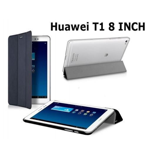 Huawei T1 8 inch Tablet Slim Flip Folio Stand case