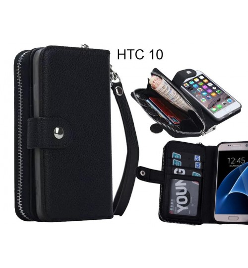 HTC 10  Case coin wallet case full wallet leather case