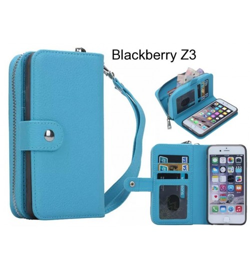 Blackberry Z3  Case coin wallet case full wallet leather case