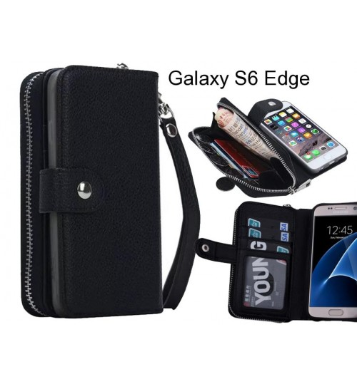 Galaxy S6 Edge  Case coin wallet case full wallet leather case