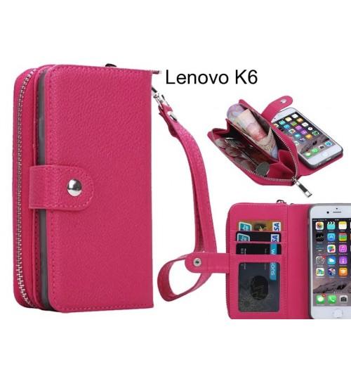 Lenovo K6  Case coin wallet case full wallet leather case