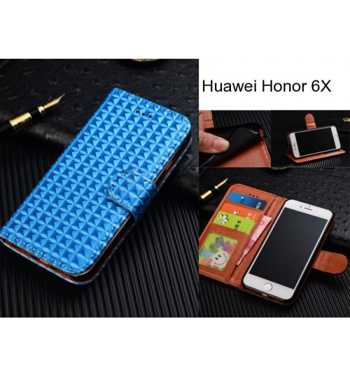 Huawei Honor 6X  Case Leather Wallet Case Cover