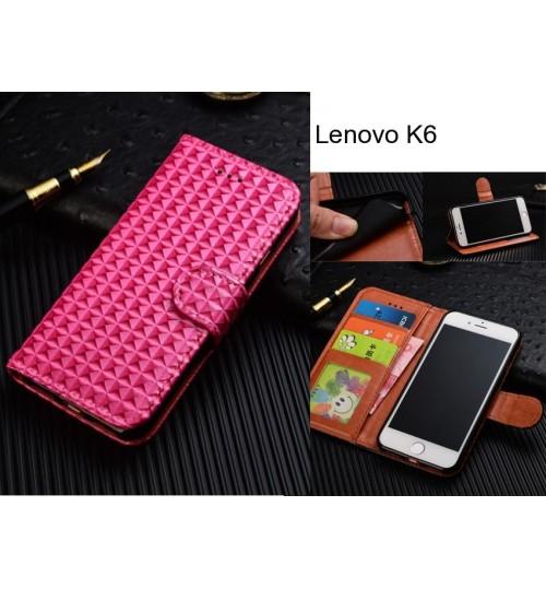 Lenovo K6  Case Leather Wallet Case Cover