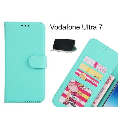 Vodafone Ultra 7 case magnetic flip leather wallet case