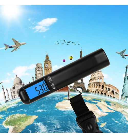 Portable Electronic Digital Luggage Scale