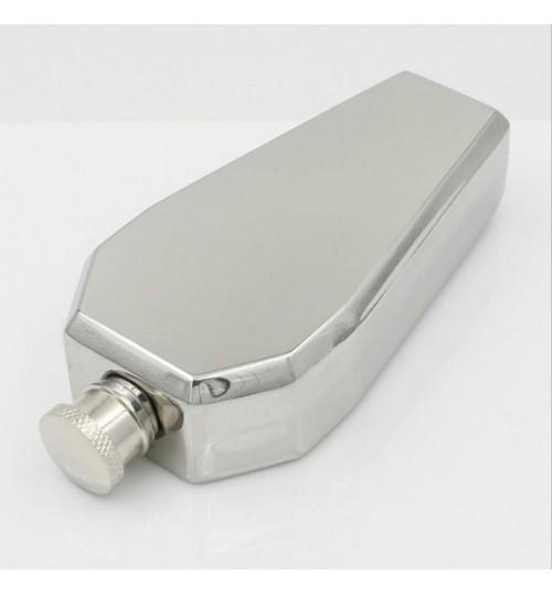 Stainless Steel Liquor Flasks 3.5oz Coffin Shape