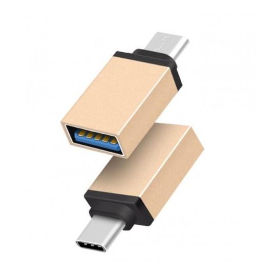Mini USB To Type C Converter OTG Adapter