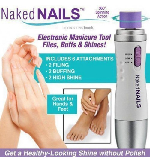 Naked Nails Electronic Manicure Tool