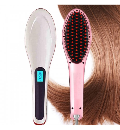 Electric Straight Hair Comb Brush