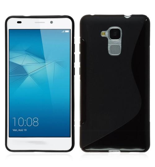 Huawei GT3  case TPU gel S line case