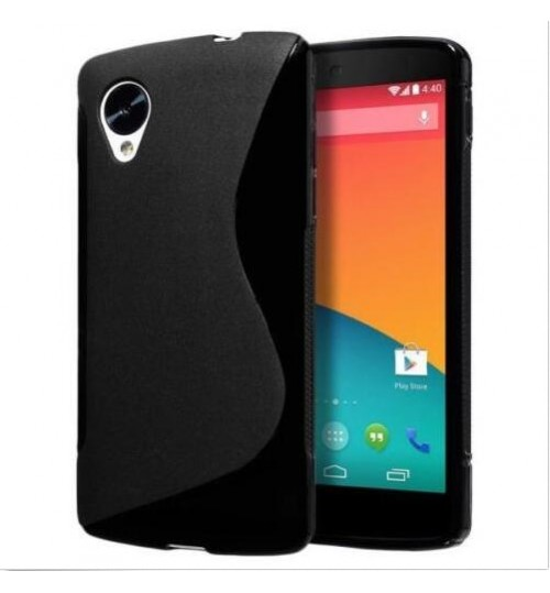 Nexus 5 case TPU gel S line case