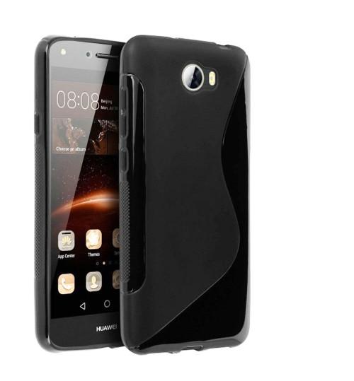 Huawei Y6 ELITE Y5 II case TPU gel S line case