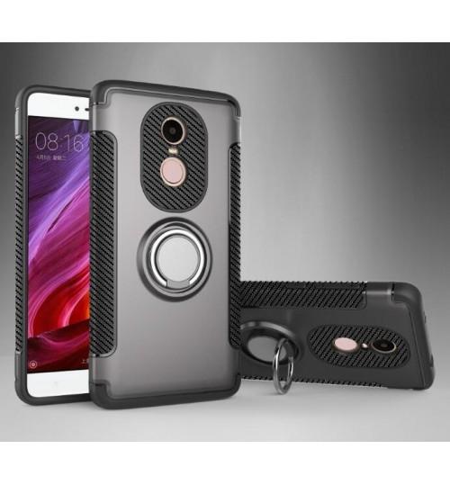 Redmi Note 3 Case Heavy Duty Ring Rotate Kickstand Case Cover