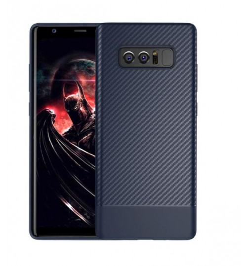 Galaxy Note 8 case impact proof rugged case with carbon fiber
