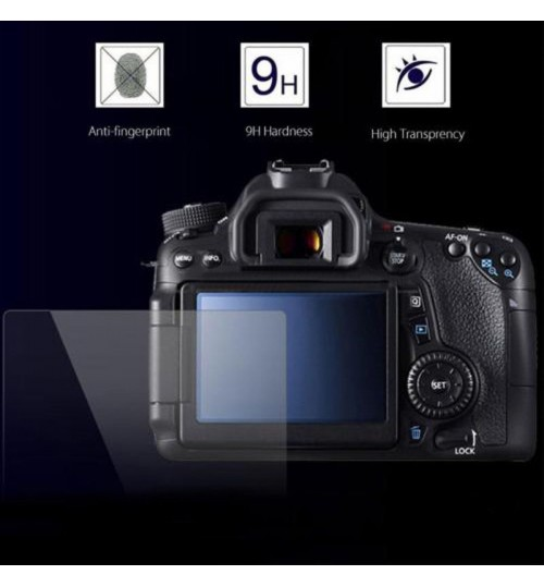 Canon LCD Screen Protector Tempered Glass For Canon 6D