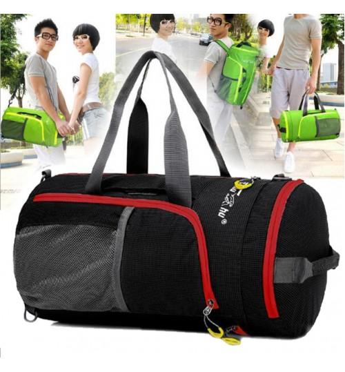 Nylon Foldable Travel Storage Luggage Gym Bags