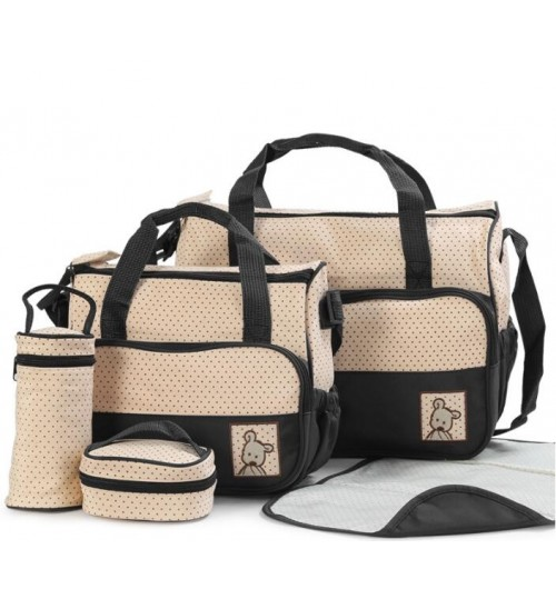 Baby Diaper Nappy Bag 5Pcs Mummy Bag