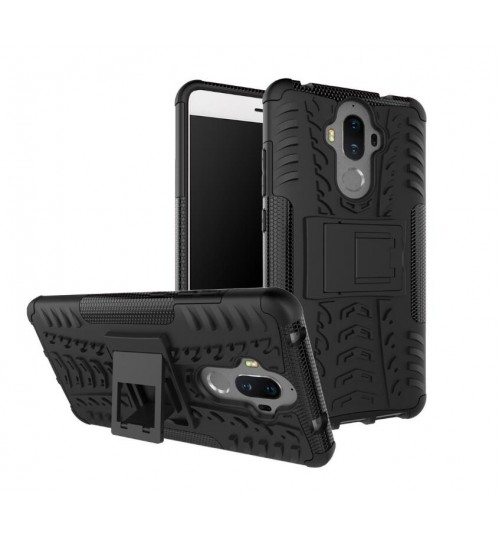 Huawei MATE 9 case Heavy Duty Hybrid Kickstand Case