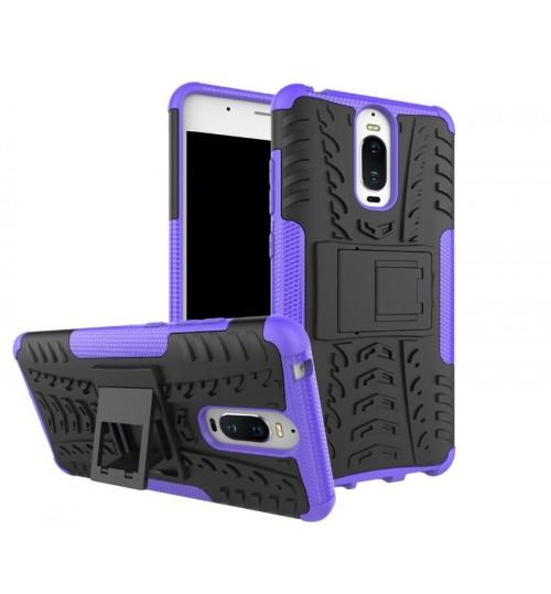 Huawei MATE 9 pro case Heavy Duty Hybrid Kickstand Case