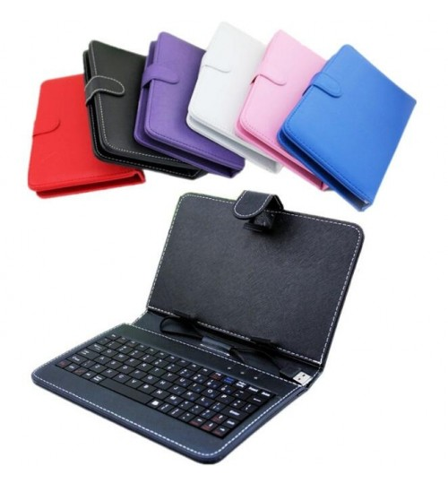 7 inch NEW universal tablet case with keyboard+Gifts