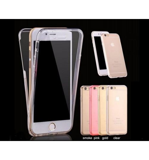 iphone 6 6s plus case 2 piece transparent full body protector case