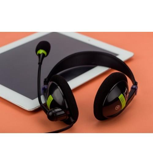 Headphone Stereo Gaming Headset Extra Bass