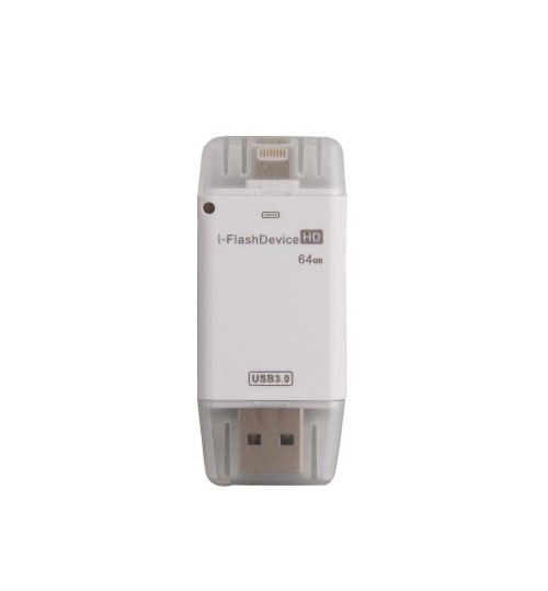 iFlash Drive External USB +SD Card Reader For iPhone iPad Mac PC