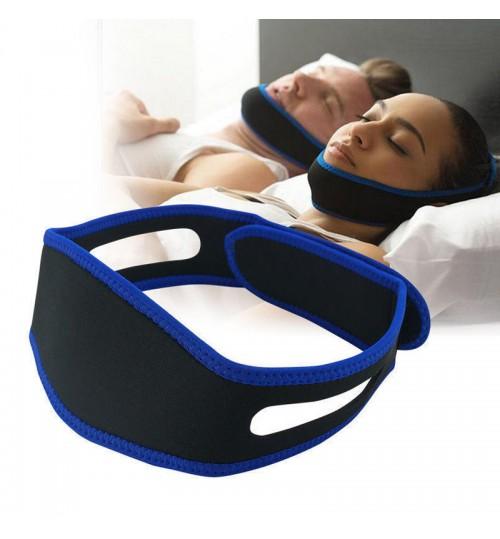 Stop Snoring Sleep Adjustable Chin Support Strap