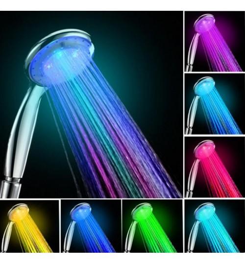 Shower Head LED 7 Colors Changing LED Shower Head Home Bathroom