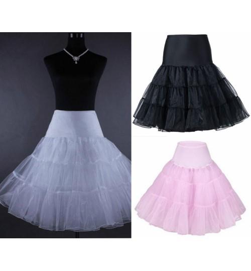 Petticoat Skirts Tutu Crinoline Underskirt -- XL SIZE