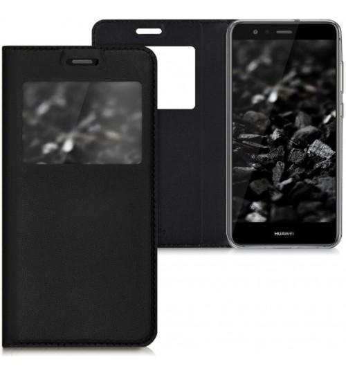 Huawei P10 lite Smart Leather Flip window S view case