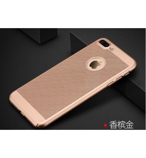 Iphone 7 plus case Cooling Hard Frosted Slim Shockproof Back Case Cover